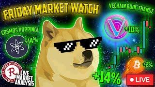 BITCOIN LIVE : DOGE COIN PUMP BEFORE SNL!
