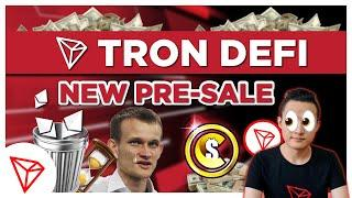 New Token Pre-Sales are Launching on Tron instead of Ethereum