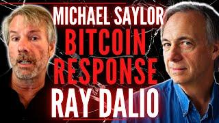 Michael Saylor reacts to Ray Dalio Bitcoin Prediction! Ray Dalio is coming around to Bitcoin! (2021)