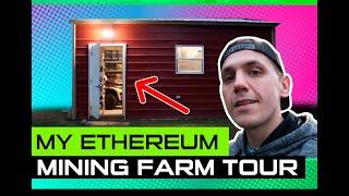 My Ethereum Mining Farm Tour - Mining At Home 3.5 GHs