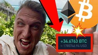 I AM TAKING DRAMATIC ACTIONS ON BITCOIN & ETHEREUM RIGHT NOW!!!!! [$3.5mln trade..]