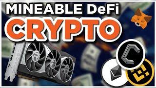Mineable Cryptocurrency integrates Decentralized Finance!