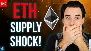 LIVE: Ethereum Supply SHOCK Incoming!!!