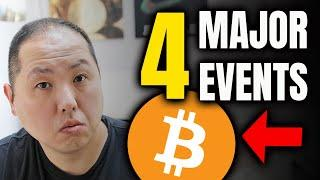 BITCOIN HOLDERS PAY ATTENTION TO THESE 4 EVENTS