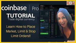 Coinbase Pro Full Tutorial: Cryptocurrency Trading for Beginners