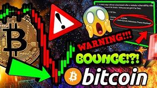 BITCOIN DEAD CAT BOUNCE!!?!!  URGENT WARNING FOR ALL BTC HODLERS!!!! $650,000!!!!?