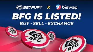 #BFG TOKEN IS LISTED ON BISWAP   BUY, SELL, EXCHANGE