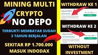 FREE DOGECOIN BITCOIN MINING ANDROID WITHOUT INVESTMENT-MINING BITCOIN DOGECOIN TANPA DEPOSIT 2021