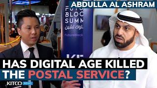 Blockchain technology is now being used to service mail, here's how - Emirates Post Group CEO