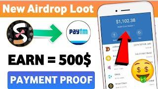 Get Free 100$  New Crypto Airdrop 2021 | New Bitcoin Earning App 2021