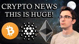 CRYPTO NEWS - A Massive Shift In Wealth Is Happening NOW!