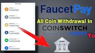 How to Withdrawal FaucetPay to Any Direct Wallet to Bank Account  Faucetpay Money Transfer To Bank