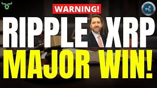 RIPPLE XRP MAJOR WIN!!! Watch In The Next 24 Hours! | Jeremy Hogan
