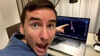 I JUST FOUND A CRAZY BITCOIN SIGNAL!!!!!!!!!!!! [my next trade]