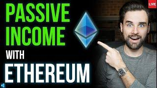 LIVE: Passive Income with Ethereum, Bitcoin ATH, NFT Craze Continues