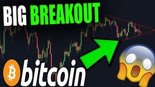 BIG BITCOIN PATTERN ABOUT TO BREAK OUT! - This Is What's Next