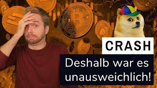 BITCOIN FLASH CRASH & DAS DOGECOIN PROBLEM