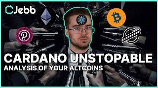Cardano Is UNSTOPABLE! - Analyzing Your Altcoins! Coffee N' Crypto
