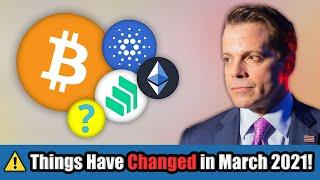 Bitcoin & Altcoin Hodlers: Things Have Changed! Big Money FLOWING into Cryptocurrency March/April!!