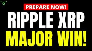Ripple XRP BREAKING NEWS!!! MAJOR WIN FOR XRP!