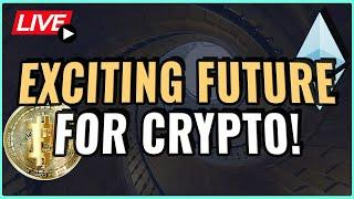 Bitcoin and Ethereum Price Predictions! + Exciting Future for Crypto! Coffee N Crypto Live