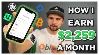 Earning $2259 A MONTH?! Staking Cryptocurrency | Passive Income W/ Crypto and NRG