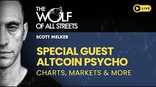 Scott Melker And Altcoin Psycho Talk Markets And Charts