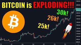 Bitcoin BLASTS Past $26K for First Time Ever!! WATCH NOW!!! 30k By End of Year!? Cryptocurrency News