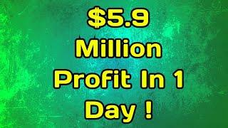 StormGain | $5.9 Million Profit In 1 Day ! Trading Bitcoin Leverage