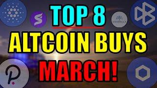 Top 8 Altcoins Set to EXPLODE in MARCH 2021 | Best Cryptocurrency Investments | Polkadot NFT News