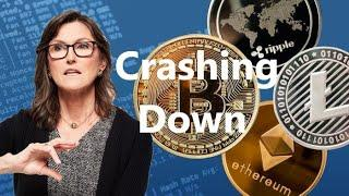 Cathie Wood on Crypto / Bitcoin Sell-Off   How Low Can it Go?   Crypto ETF