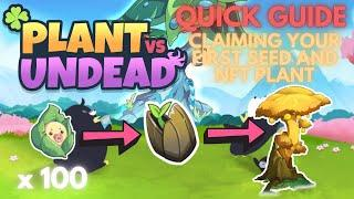 PVU Quick Guide on Getting your First Seed and NFT Plant | Tips on Checking Seeds (Tagalog)