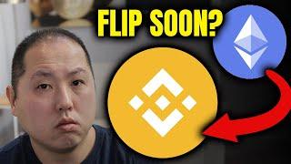 IS BINANCE COIN ABOUT TO FLIP ETHEREUM???