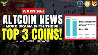 ALTCOIN NEWS!!! MILLIONS IN CRYPTO CONFISCATED! It's Happening Right Now In Israel!
