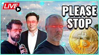 Bitcoin doesn't need CEO Heroes! + Ethereum's London Hard Fork has begun! Coffee N Crypto Live