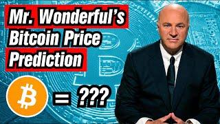 Bitcoin Price Prediction from Shark Tank's Kevin O'Leary.