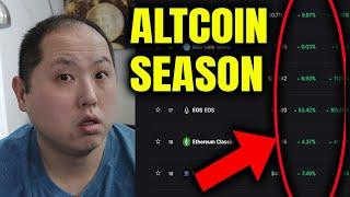 ALTCOIN SEASON IS UPON US