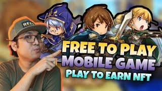 Mobile Game Play to Earn Free to Play NFT Game | Crazy Defense Heroes Gameplay [ENGLISH SUB]