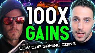 100X GAINS INCOMING!! Low cap crypto games will create life changing wealth (featuring Alex Becker)
