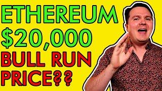 ETHEREUM PRICE EXPLOSION TODAY! $20,000 POSSIBLE? HERE'S MY PREDICTION EXPLAINED