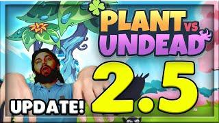 WHAT IS THE MOTHER TREE!?!! FARMING UPDATE 2.5 PLANT VS UNDEAD