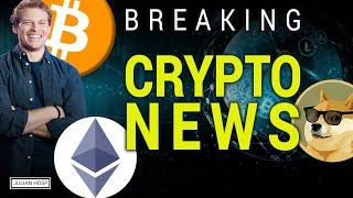 BREAKING!!! WICHTIGE CRYPTO NEWS: ETHEREUM, DOGE, ETC.