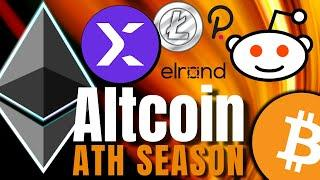 Ethereum, Polkadot, StormX: Altcoins are on FIRE  and ETH is JUST GETTING STARTED!!!