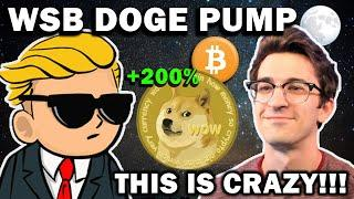WALL STREET BETS DOGE PUMP +200%!!! WHY THIS IS BULLISH