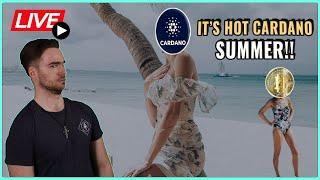 Is Bitcoin Price back on track for 100K before 2022?! + HOT Cardano Summer! Coffee N Crypto Live
