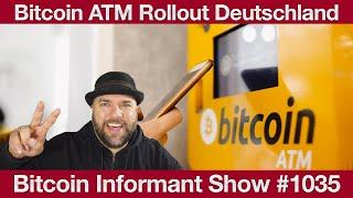 #1035 Bitcoin ATM Rollout, UniSwap 50 Milliarden Dollar Volumen & Institutioneller BTC Run