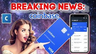 Coinbase Launches Crypto Visa Debit Card To U.S. Residents! Earn 4% XLM!!