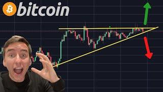 ALERT!!!!!! THIS BITCOIN TRADE IS ABSOLUTELY IMMINENT RIGHT NOW!!!! [short or long]