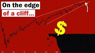 """Markets Are on the Edge of a Cliff (Will this """"SELL"""" signal trigger?)"""