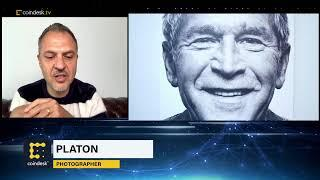 Celebrity Photographer Platon Unveils Eye-Themed NFT Series   First Mover - CoinDesk TV